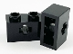 Part No: 32064c  Name: Technic, Brick 1 x 2 with Axle Hole and Inside Side Supports