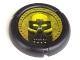 Part No: 32171pb004  Name: Bionicle Disk, Mask Kaukau Pattern