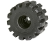 Part No: 32193  Name: Wheel Full Rubber Flat with Axle hole