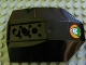 Part No: 42021pb01  Name: Cockpit 8 x 6 x 2 Curved with Joker Face Pattern (Sticker) - Set 7782