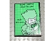 Part No: 4515pb020  Name: Slope 10 6 x 8 with Batman Joker Pattern (Sticker) - Set 7783