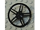 Lot ID: 56074735  Part No: 54086  Name: Wheel Cover 5 Spoke without Center Stud - 35mm D. - for Wheels 54087, 56145 or 44292