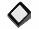 Part No: 54200pb061  Name: Slope 30 1 x 1 x 2/3 with White Square Pattern (Sticker) - Set 30195