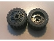 Part No: 55982c06  Name: Wheel 18mm D. x 14mm with Axle Hole, Fake Bolts and Shallow Spokes with Black Tire 24 x 14 Shallow Tread - Band Around Center of Tread (55982 / 89201)