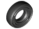 Part No: 59895  Name: Tire 14mm D. x 4mm Smooth Small Single - New Style - with Number Molded on Side