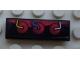 Part No: 63864pb033L  Name: Tile 1 x 3 with Engine 3 Cylinders Pattern Model Left Side (Sticker) - Set 8897