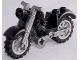 Part No: 85983c02  Name: Motorcycle Vintage with Flat Silver Chassis and Light Bluish Gray Wheels