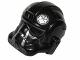 Part No: 87556pb07  Name: Minifigure, Headgear Helmet SW Stormtrooper Type 2, TIE Fighter Pilot Pattern 2