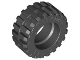 Part No: 92402  Name: Tire 30.4 x 14 Offset Tread - Band Around Center of Tread
