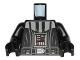 Part No: 973pb1804c01  Name: Torso SW Darth Vader Imperial Star Destroyer Pattern / Black Arms / Black Hands