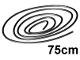 Part No: x77ac75  Name: String, Cord Thin  75cm