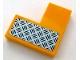 Part No: 14719pb001L  Name: Tile 2 x 2 Corner with Silver Tread Plate Pattern Model Left Side (Sticker) - Set 60159