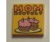 Part No: 3068bpb0919  Name: Tile 2 x 2 with 'MOM MONTHLY' Pattern