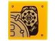 Part No: 3068bpb0940R  Name: Tile 2 x 2 with Mechanical Gears and Chains Pattern Model Right Side (Sticker) - Set 70227