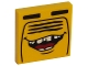 Part No: 3068bpb1090  Name: Tile 2 x 2 with Open Mouth Smile and Radiator Grille Pattern