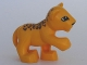 Part No: 54300cx2  Name: Duplo Leopard Cub, Raised Paw ('Cheetah' in 4971)