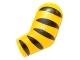 Part No: 981pb054  Name: Arm, Left with 5 Black Stripes (Tiger) Pattern