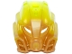 Part No: 19082pb01  Name: Bionicle Mask of Stone with Marbled Trans-Neon Green Pattern