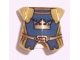 Part No: 2587pb21  Name: Minifigure, Armor Breastplate with Leg Protection, Fantasy Era Crown King Pattern