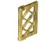 Part No: 60607  Name: Window 1 x 2 x 3 Pane Lattice with Thick Corner Tabs
