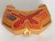 Part No: 98603pb016  Name: Large Figure Chest Armor Small with Red and Orange Pattern