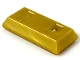 Part No: 99563  Name: Minifig, Utensil Gold Ingot / Bar