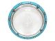 Part No: 3960pb034  Name: Dish 4 x 4 Inverted (Radar) with Dark Azure Circle / Gyrosphere Pattern