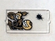 Part No: 60602pb07  Name: Glass for Window 1 x 2 x 3 with Black Insect and Smiling Pumpkins Pattern (Sticker) - Set 75904