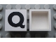 Part No: Mx1022Apb081  Name: Modulex Tile 2 x 2 with Black 'Q' Pattern (no internal support)