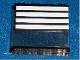 Part No: 4215pb066  Name: Panel 1 x 4 x 3 with 4 White Stripes Pattern (Sticker) - Set 4513