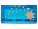 Part No: 3069bpx39  Name: Tile 1 x 2 with HP Stars Gold Pattern