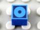 Part No: Mx1011Apb64  Name: Modulex Tile 1 x 1 with Black Circle Outline Double Pattern