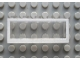 Part No: Mx1552pb01  Name: Modulex Window 1 x 5 x 2 with White Border Pattern