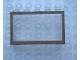 Part No: Mx1553pb04  Name: Modulex Window 1 x 5 x 3 with Brown Border Pattern
