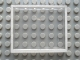 Part No: Mx1565pb01  Name: Modulex Window 1 x 6 x 5 with White Border Pattern