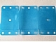 Part No: clikits173  Name: Clikits Plastic, Rectangle 14.5 x 26.5 with Rounded Corners and 20 Holes