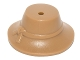 Part No: 13788  Name: Minifigure, Headgear Hat, Wide Brim Down with Knotted Band