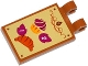 Part No: 30350bpb012  Name: Tile, Modified 2 x 3 with 2 Clips with Muffin, Croissant and Prices Pattern (Sticker) - Set 41074
