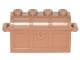 Part No: 4738ac01  Name: Container, Treasure Chest - Thick Hinge, Slots in Back