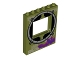 Part No: 15627pb004  Name: Panel 1 x 6 x 6 with Window with Round Sewer Opening Outline Pattern