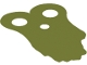 Part No: 90005  Name: Minifigure, Armor Pauldron Cloth, Tattered, Long