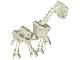 Part No: 59228  Name: Horse, Skeletal
