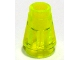 Lot ID: 109238290  Part No: 4589b  Name: Cone 1 x 1 with Top Groove
