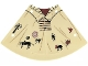 Part No: 13882  Name: Plastic Tepee Cover with Western Indians Motifs Pattern
