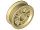 Part No: 30155  Name: Wheel Spoked 2 x 2 with Pin Hole