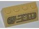Part No: 3037pb024  Name: Slope 45 2 x 4 with Hieroglyphs Pattern (Sticker) - Set 7327