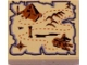 Part No: 3068bpb0367  Name: Tile 2 x 2 with Groove with Map Pyramid and Sphinx Pattern