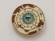 Part No: 4150pb080  Name: Tile, Round 2 x 2 with Treasure Map Pattern