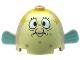 Part No: 60339px1  Name: Body Pufferfish with Mrs. Puff Pattern (SpongeBob)