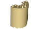 Part No: 87926  Name: Cylinder Half 3 x 6 x 6 with 1 x 2 Cutout